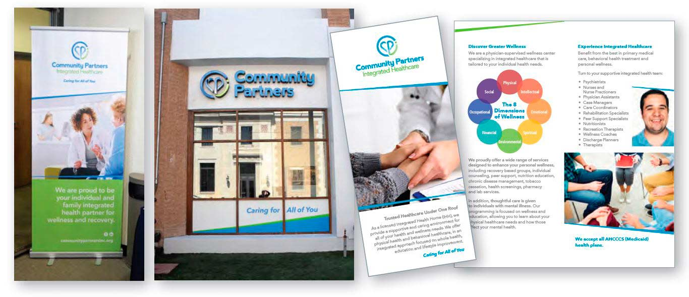 community partners collateral